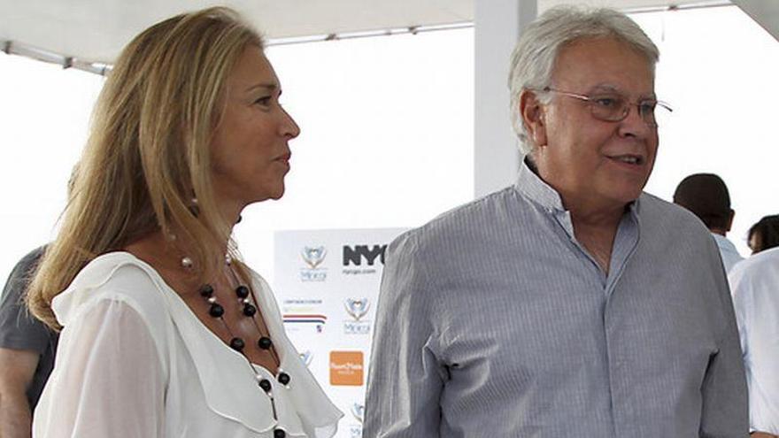 Mar García Vaquero, mujer de Felipe González, en 'los papeles de Panamá'