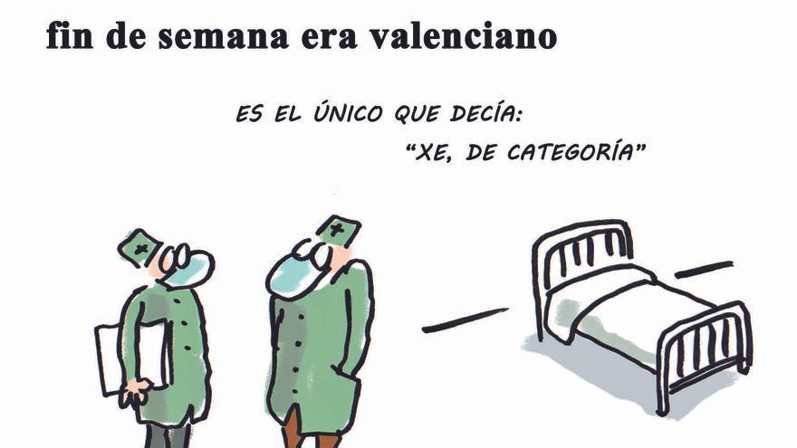 Solo 1 de cada 6 nuevos contagiados del fin de semana era valenciano