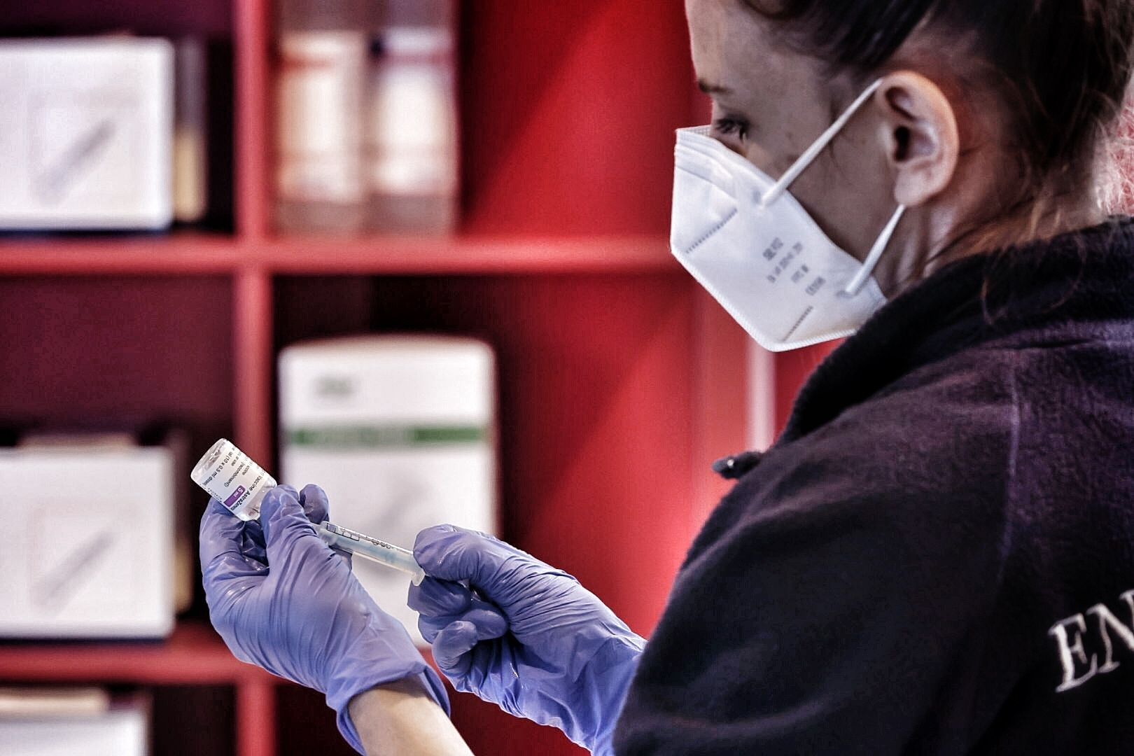 Inicio de la vacunación en el Recinto Ferial de Los Realejos
