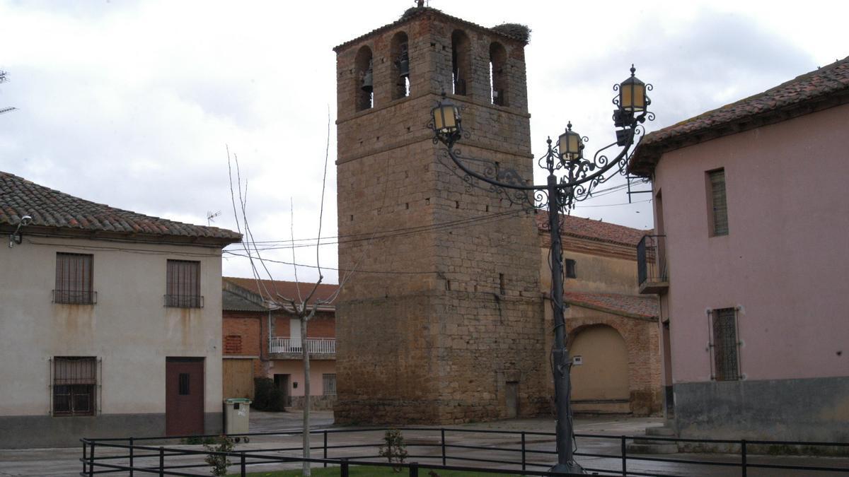 Iglesia de Santa Colomba de las Carabias. / E. P.