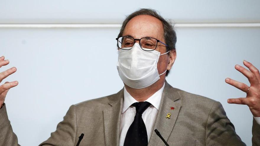 Torra pide el confinamiento de Madrid