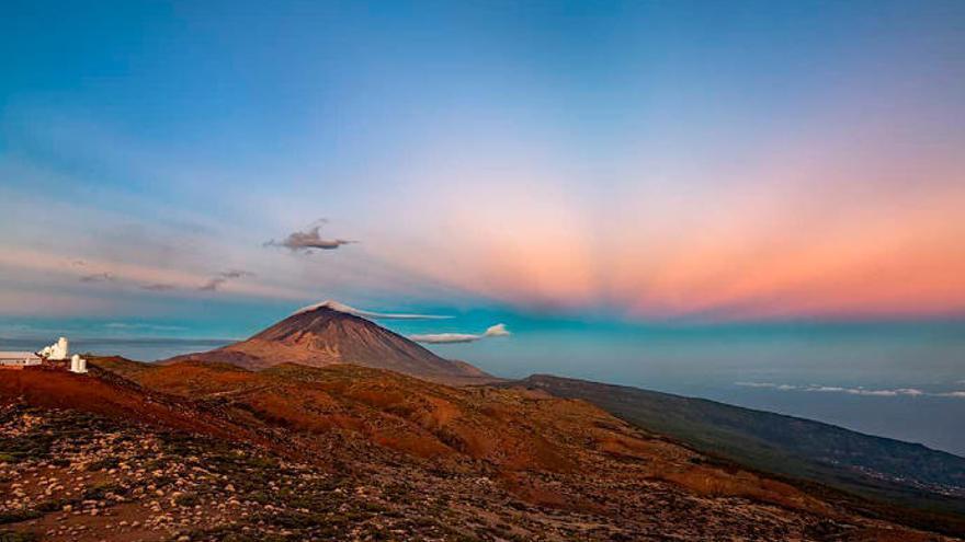 El Teide 'encoge' varios metros
