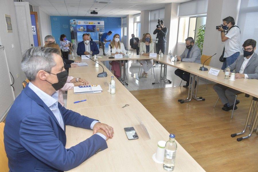 La secretaria de Estado de Energía, Sara Aagesen, visita la Plocan