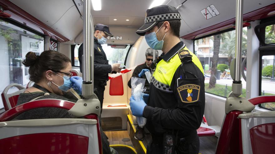 Alicante prevé un déficit de 5 millones en el bus urbano para 2021 por el impacto de la pandemia