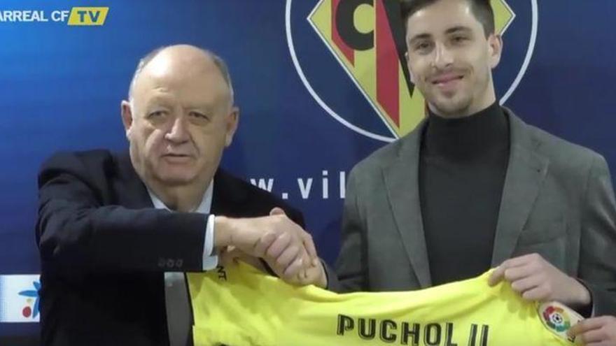 Puchol II se estrena como abanderado del proyecto del Villarreal 'Endavant'