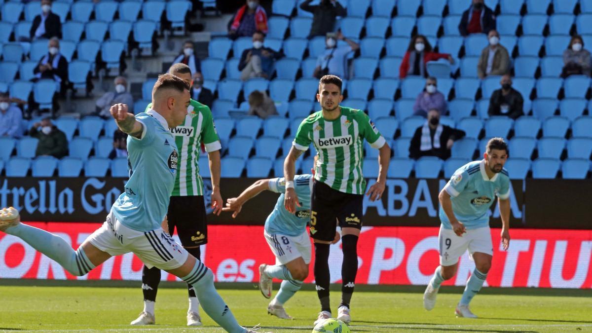 Las mejores imágenes del Celta - Betis