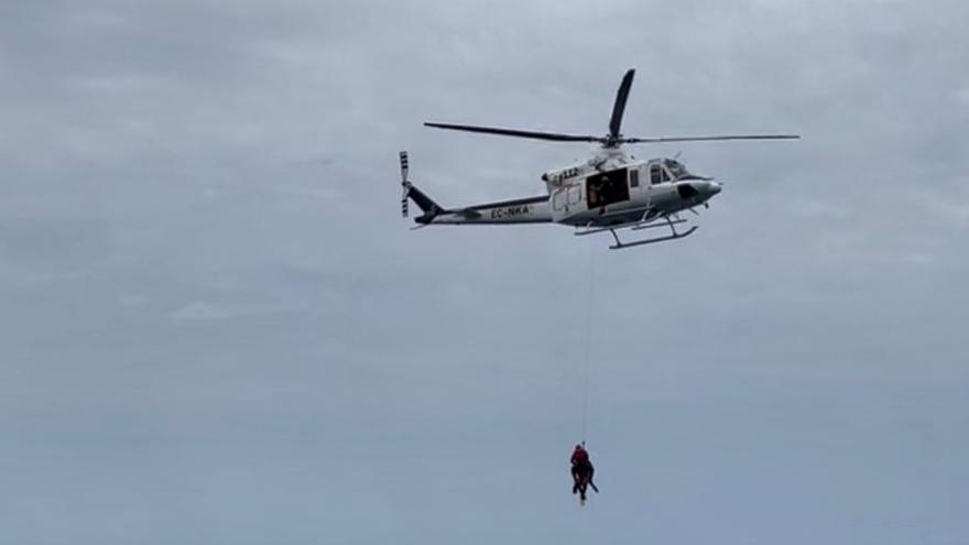 Localizan el cuerpo sin vida de una mujer flotando en Fuerteventura