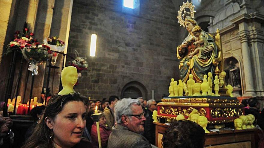 Armenteira renuncia a celebrar misas por As Cabezas y tendrá cerrada la iglesia