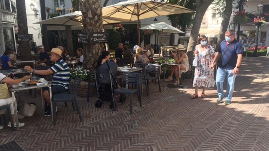 """La alcaldesa insiste en que la tasa en Marbella """"no es real"""""""