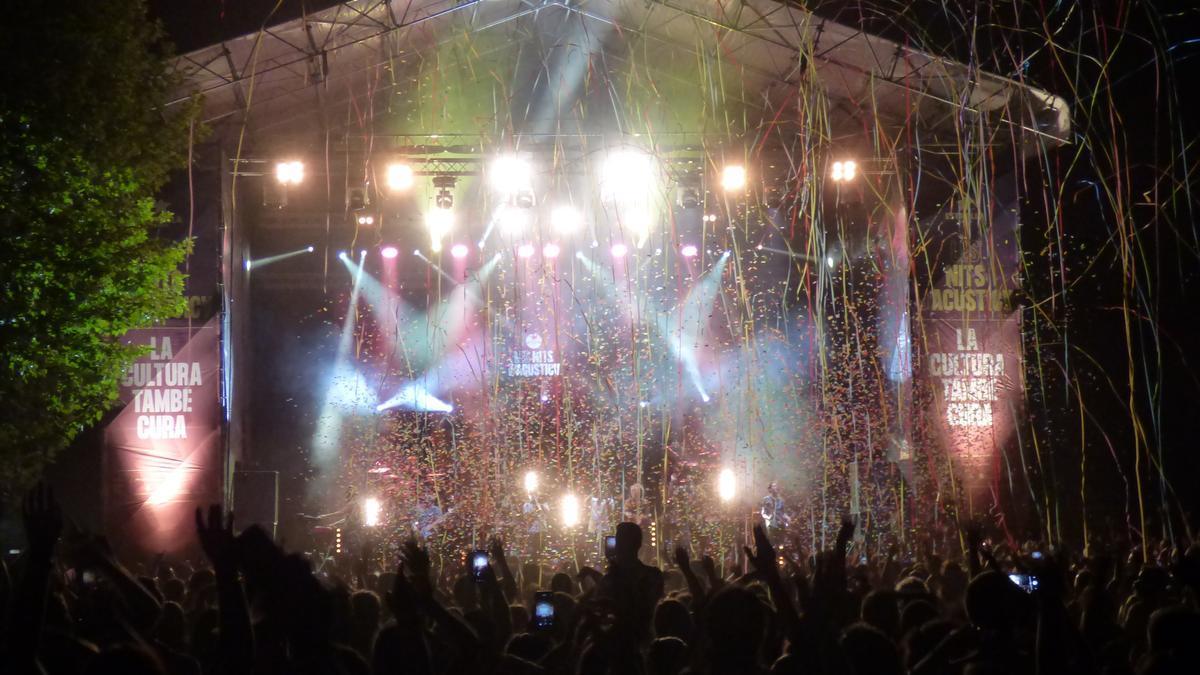 Concert de La Pegatina al Parc de les Aigües