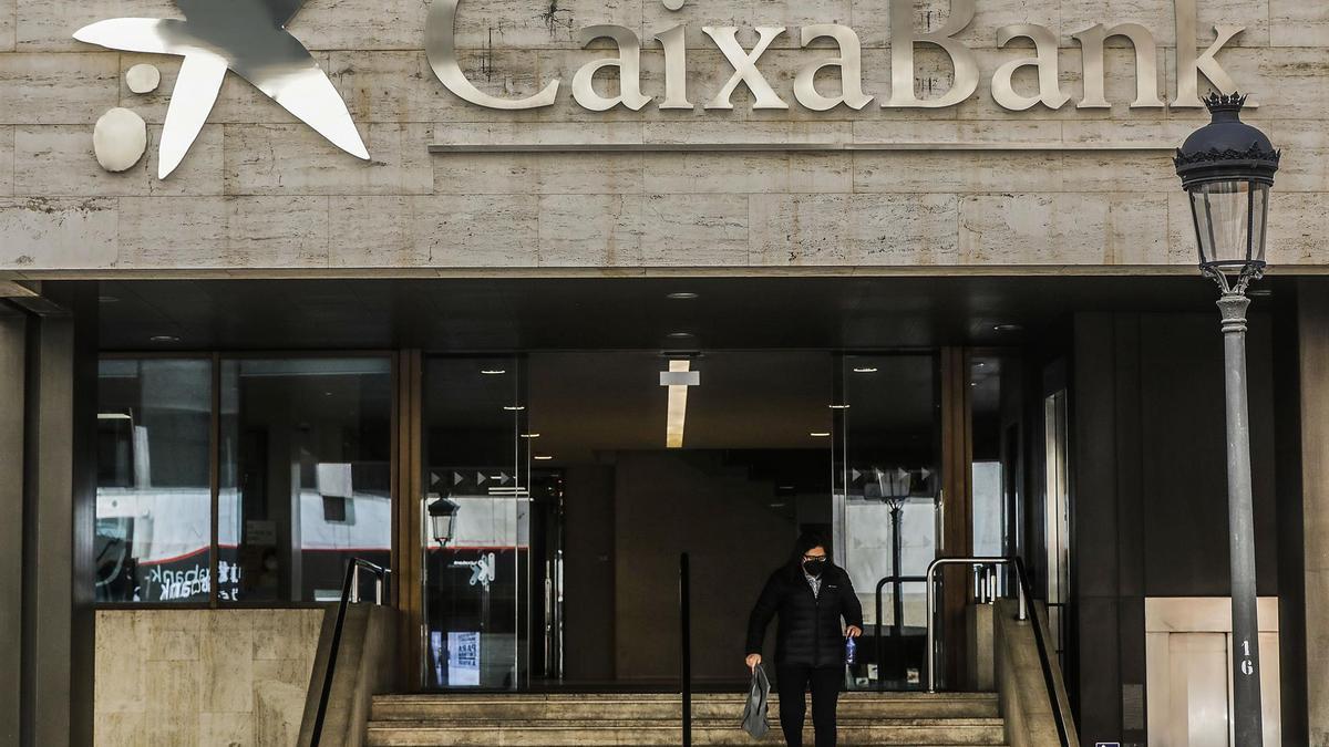 Caixabank en Valencia.