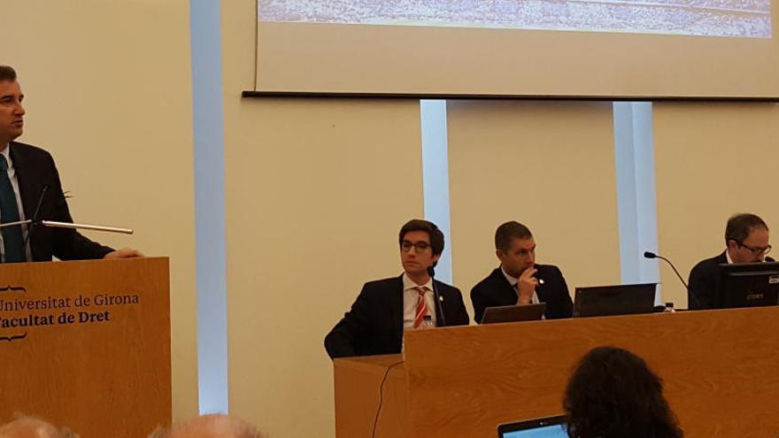 Pere Guardiola i Ferran Soriano mostren el seu suport al projecte del Girona