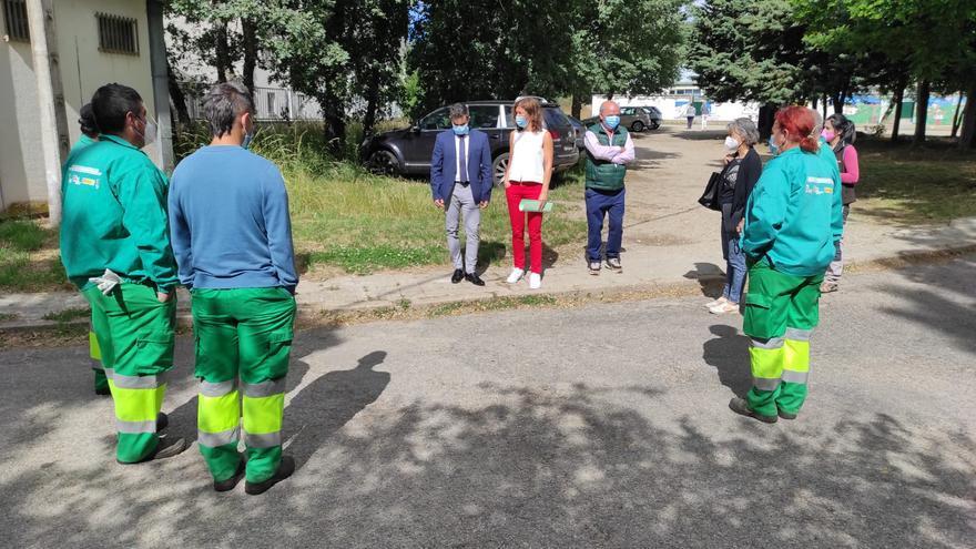 60.000 euros de ayuda para el programa mixto de empleo en Galende