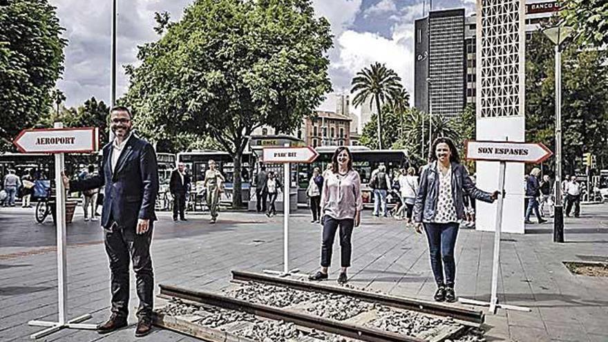 Armengol promete a los jóvenes una tarifa plana de 25 euros en bus y tren