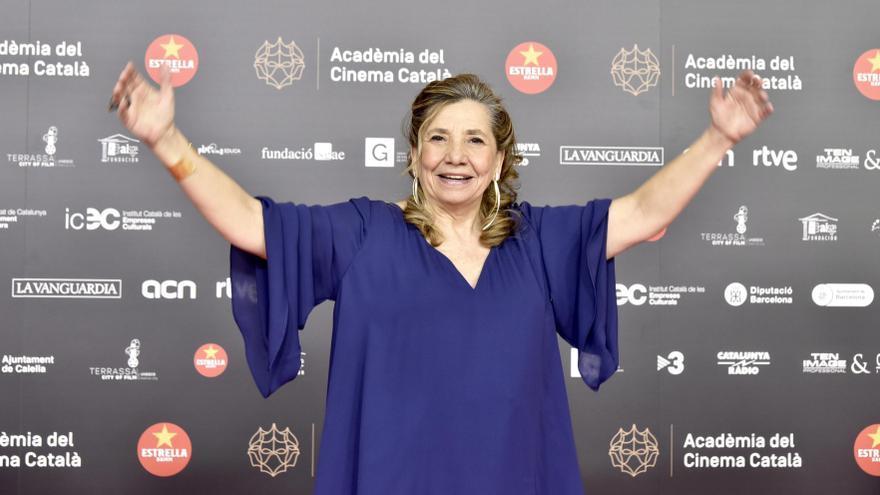 La presidenta de la Acadèmia del Cinema Catalá, Isona Passola.