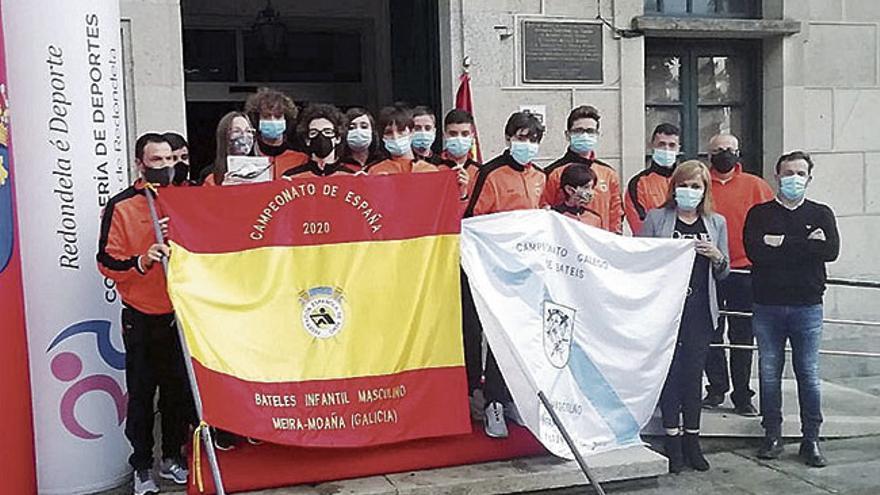 Os remeiros do Chapela, campións de España