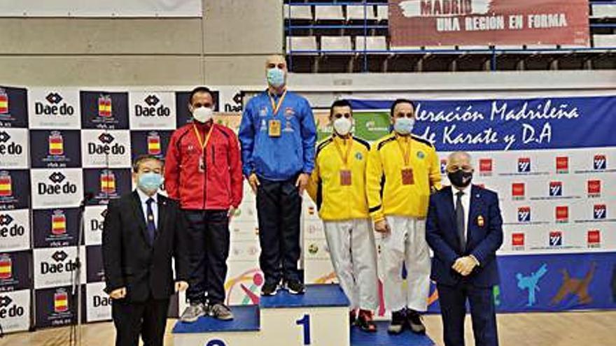 Dos medallas ibicencas en  la Copa de España de Estilos celebrada en Leganés