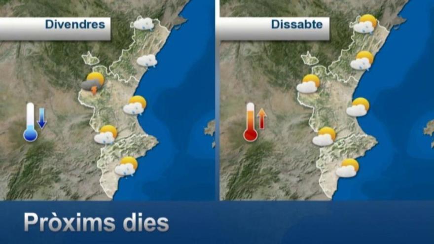 El tiempo en Valencia: Cuándo va a llover