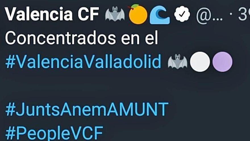 El Valencia CF se queda solo en el boicot a las redes