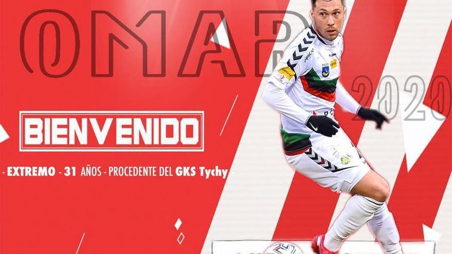 Omar Monterde, primer fichaje del Zamora en su vuelta a Segunda B