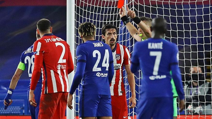 El Chelsea expulsa l'Atlètic de la Champions (2-0)