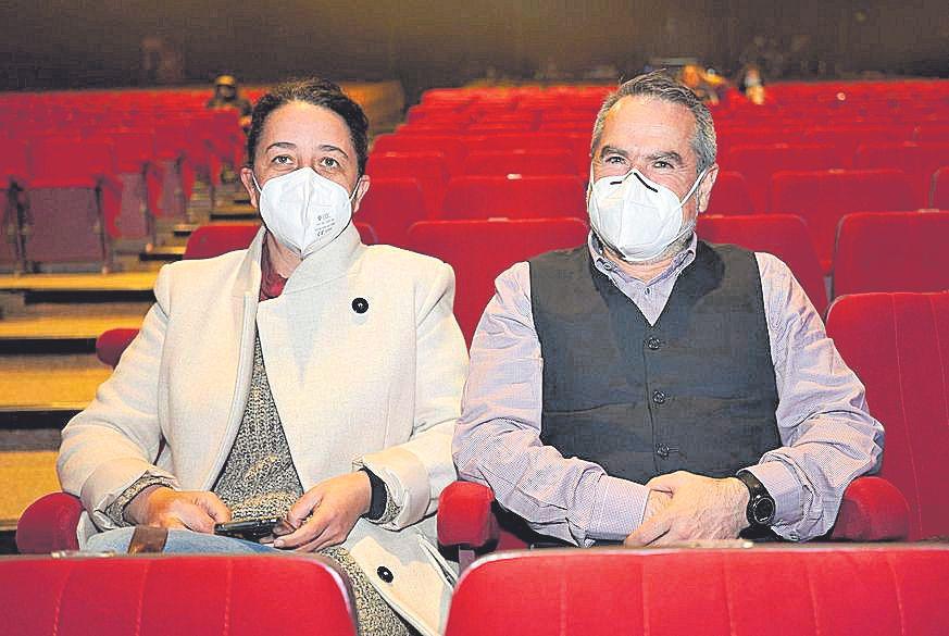 Toñi Cuerva y Toni Joyas.