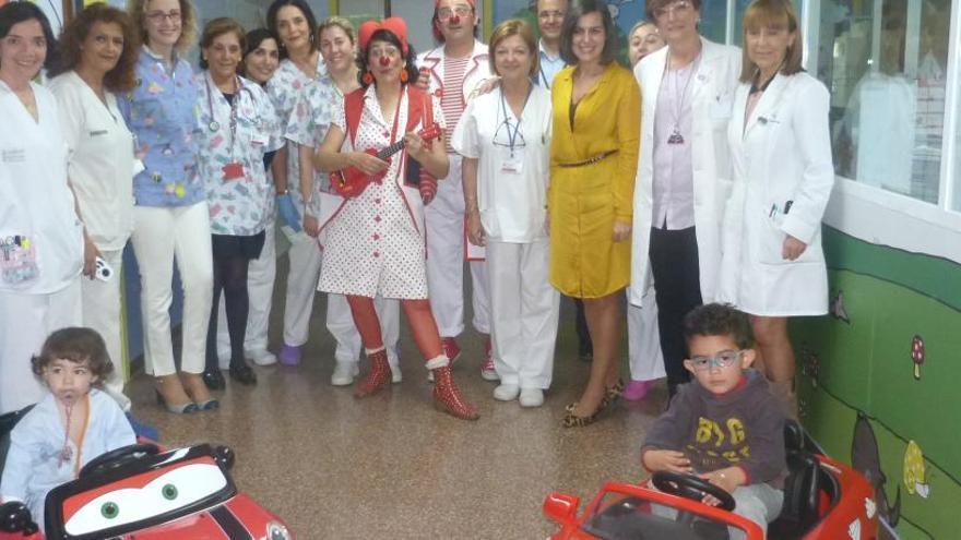 Los menores ingresados en el Hospital de Sant Joan irán al quirófano en cochecitos eléctricos