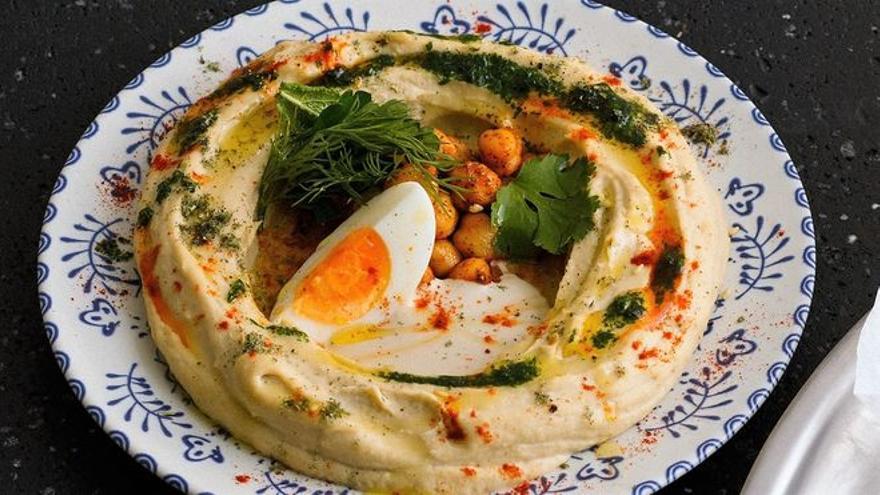 Humus: dos recetas y un restaurante donde comerlo