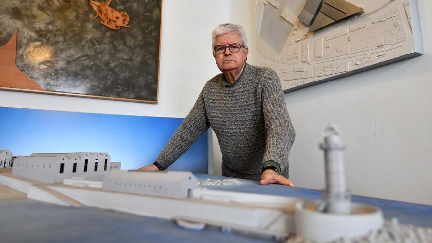 El arquitecto César Portela recibe el premio COAG a la trayectoria profesional