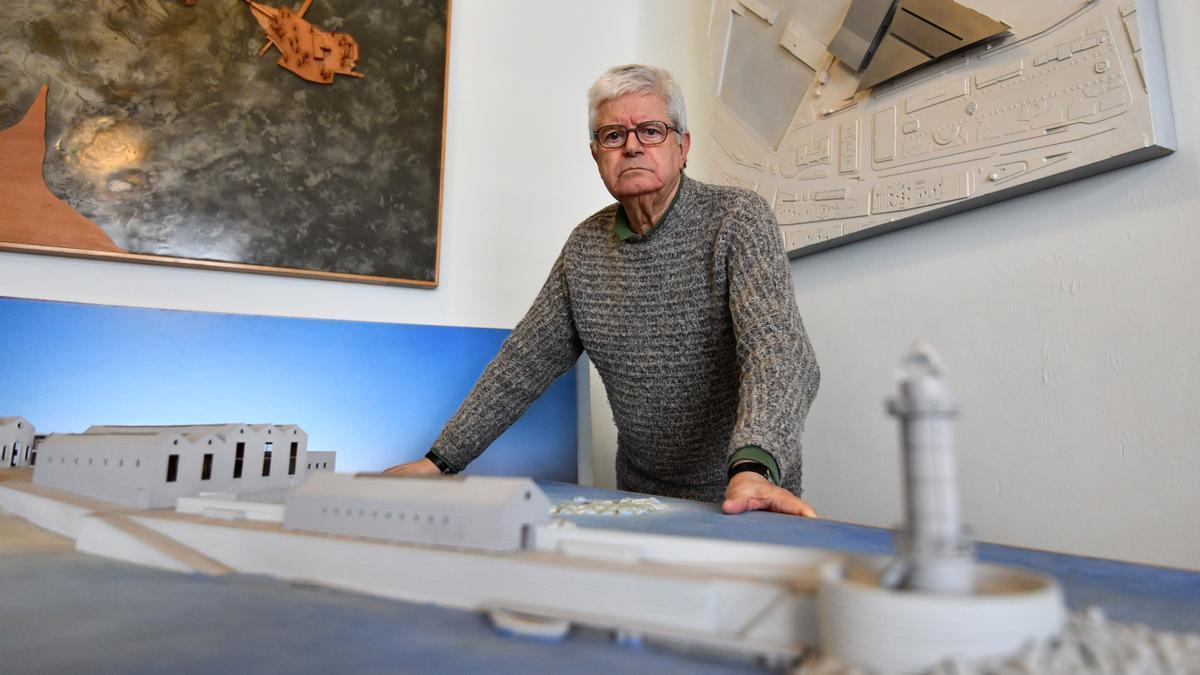 César Portela, premio COAG de Arquitectura a la trayectoria profesional.