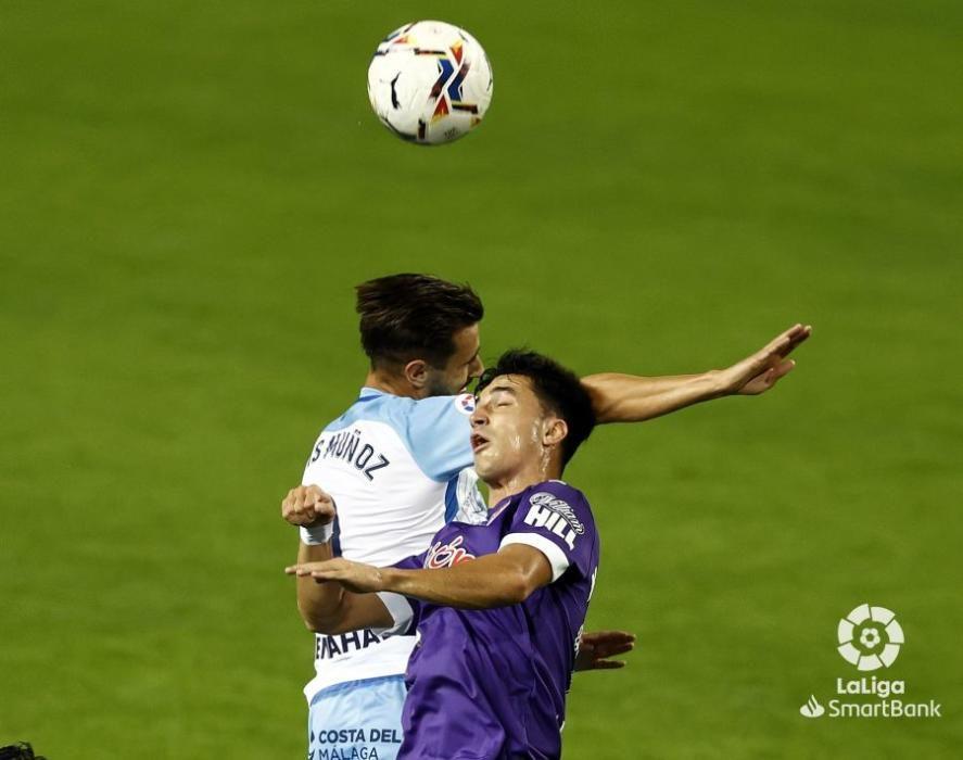 Málaga - Sporting, en imágenes