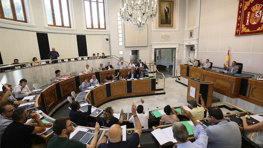 La Sindicatura deja mal parada a la Diputación de Alicante en el reparto de inversiones