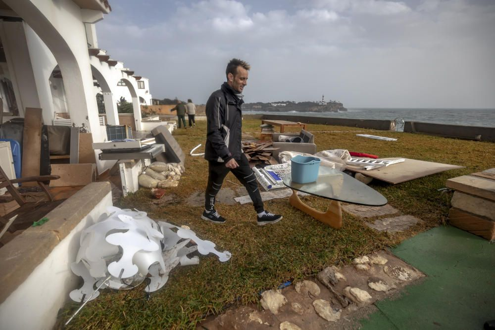 Mallorca räumt auf nach dem Sturmtief Gloria