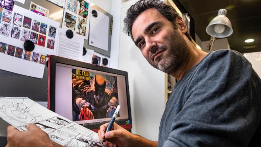 Der Mallorquiner Guillem March zeichnet die neue Batman-Reihe