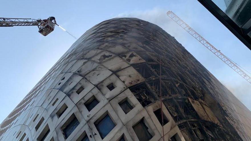Nuevo incendio en Beirut: arde un edificio de Zaha Hadid
