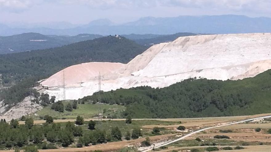 Medi Ambient proposa fiances de 17,8 milions per a les restauracions mineres de Sallent i Súria