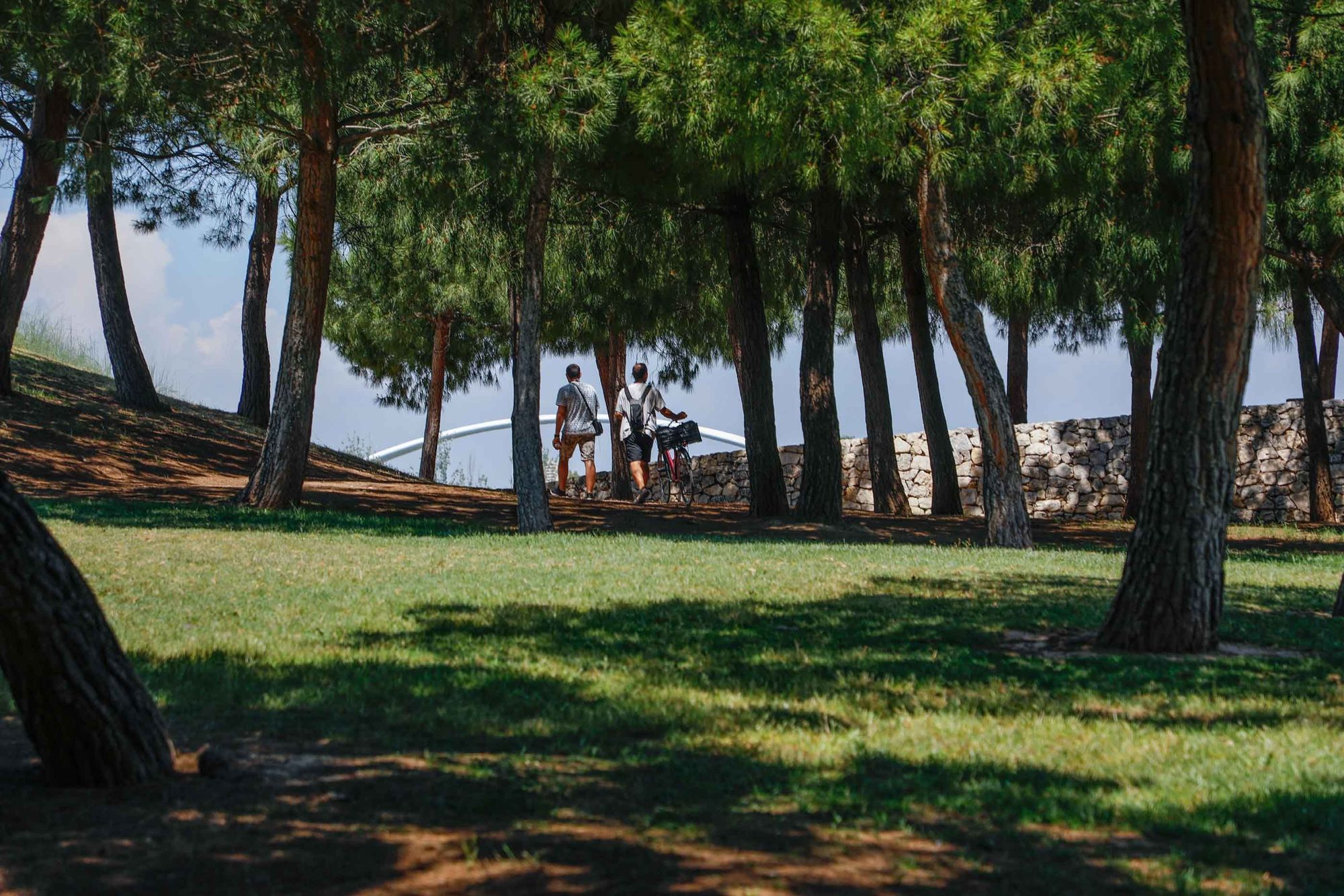 Parque de Cabecera, uno de los pulmones de València