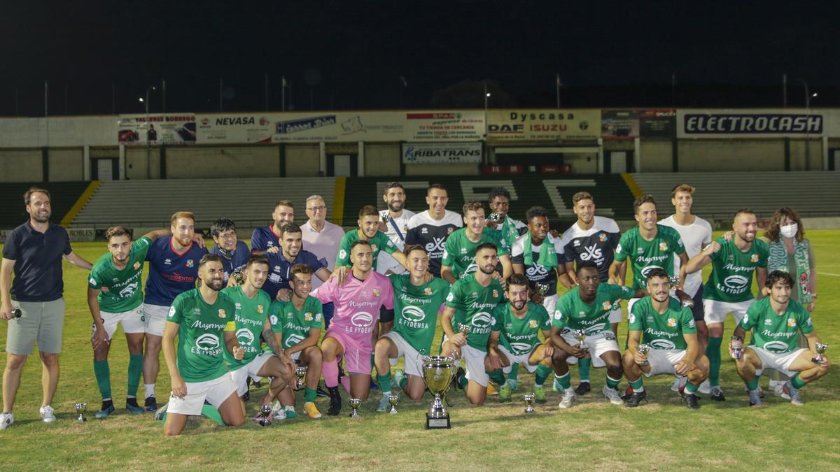 El Moralo, campeón de la Copa Federación extremeña.
