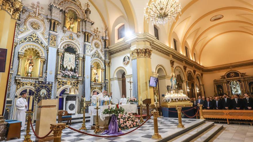 Misa y procesión en honor a la Inmaculada Concepción 2019 en Torrevieja