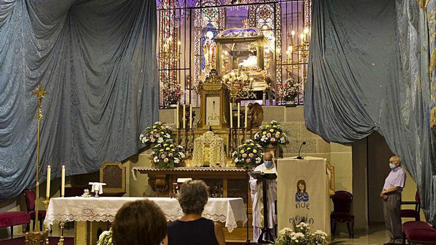 Novenario de la Virgen del Tránsito en Zamora
