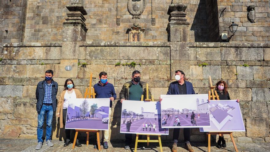 Patrimonio autoriza la reconstrucción de la escalinata de Fefiñáns