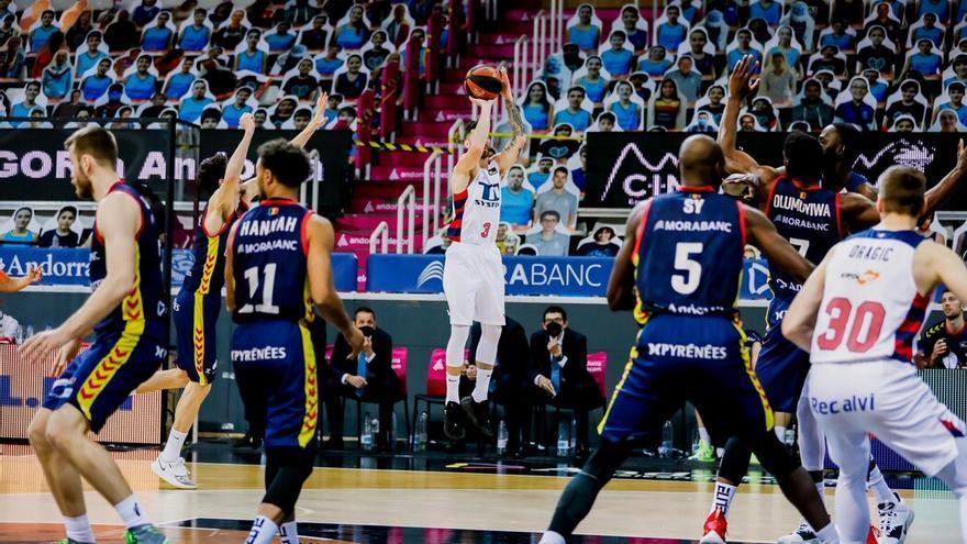 El Andorra pierde y el Unicaja mantiene su plaza de play off