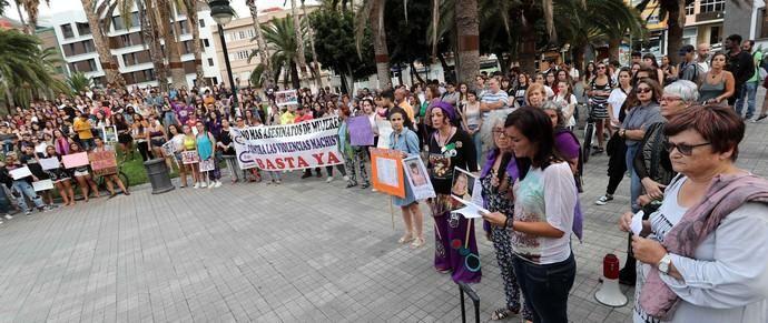 CONCENTRACIÓN EN LAS PALMAS DE GRAN CANARIA