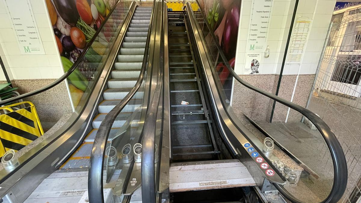 Escaleras del Mercado de Verónicas