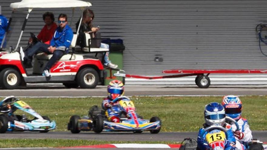 Tratan de boicotear el Nacional de karts en el circuito de Fernando Alonso