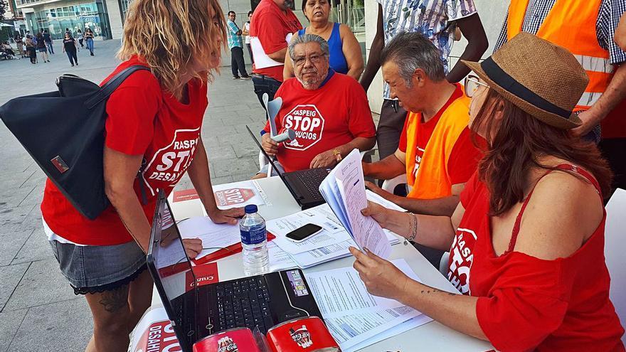 San Vicente cede infraestructuras a Stop Desahucios a falta de una oficina de vivienda