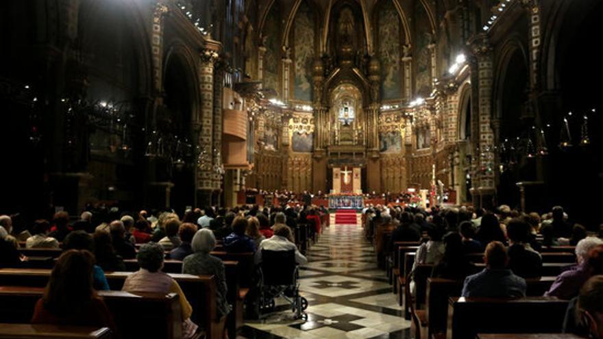 Montserrat prega per a la fi de la pandèmia en una 'marató' d'oracions per tot el món