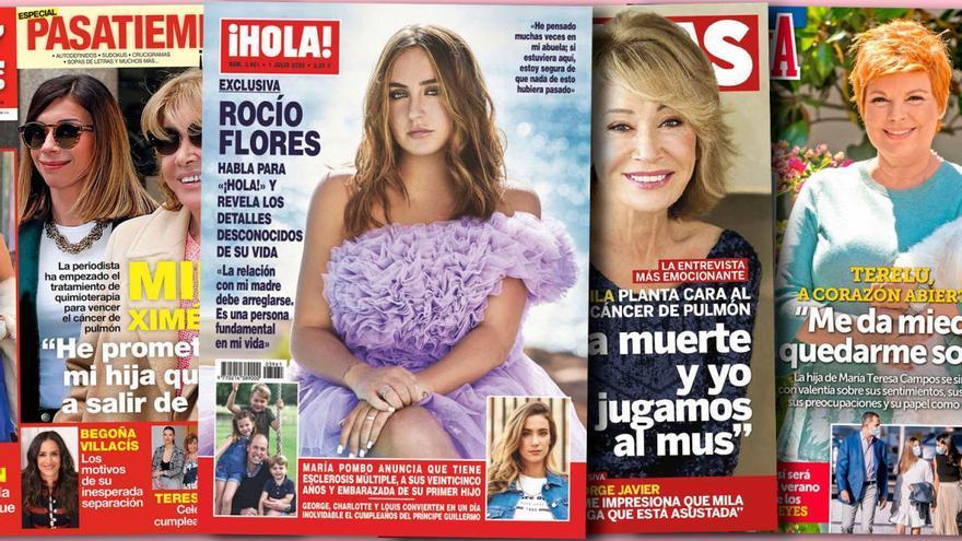 Rocío Flores saca la artillería pesada para llamar la atención de su madre