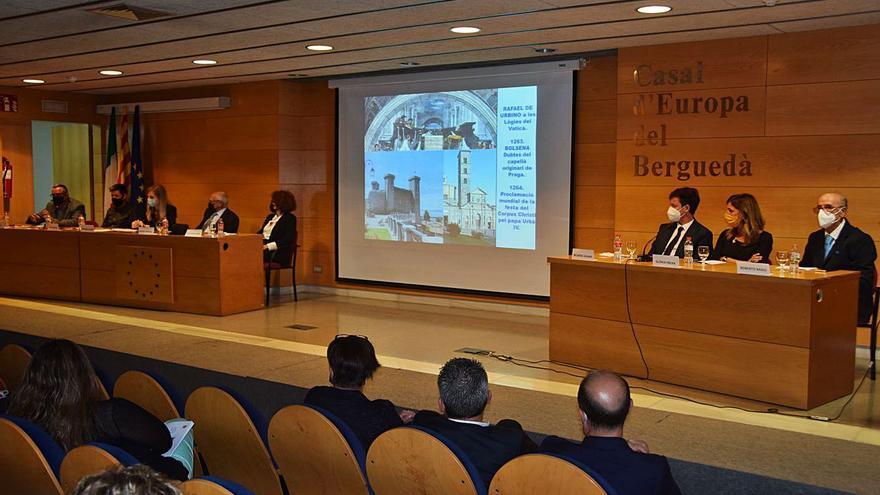 L'Alguer defensa a Berga que l'afer català es resolgui per la via política i no per la judicial