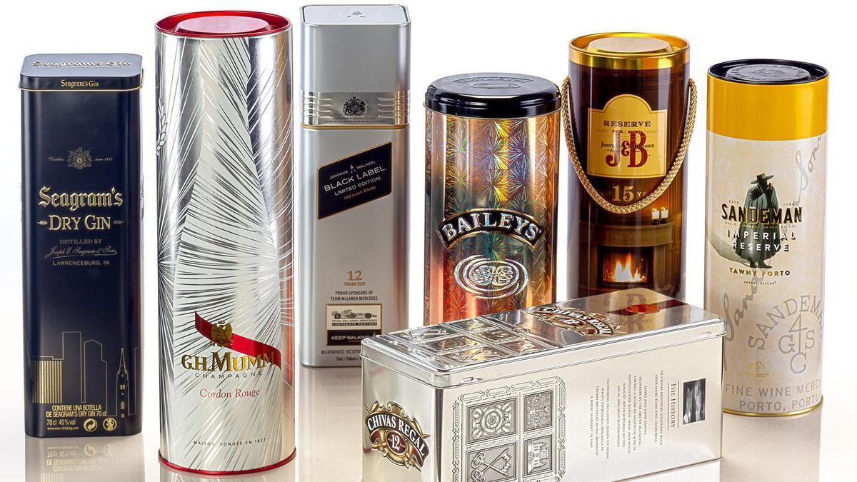 El envase expresa la marca en competencia a través de su contenido y diseño.